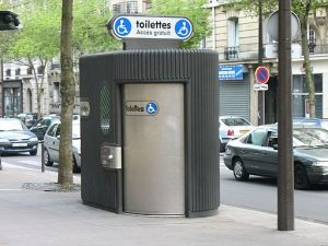 Accessible Sanisette (Public Bathroom)