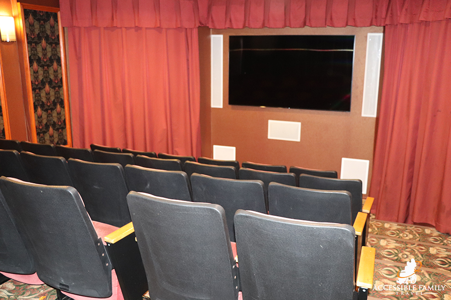 Meadowmere Resort has a small wheelchair accessible theater. There are no other accessibility services for this theater